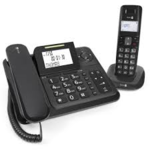 Doro Comfort 4005 2-in1 zwart