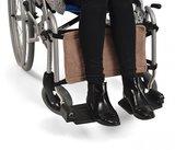Fleece kuitsteun voor rolstoel_