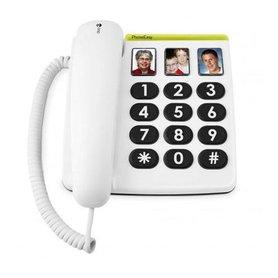 Doro Big Button huistelefoon met 3 foto's