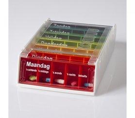 Anabox - 7 pillendoosjes in een box