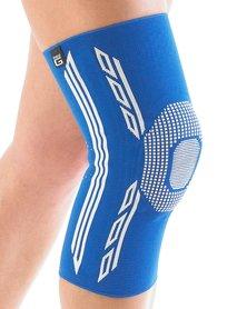 Airflow Plus stabiliserende knie support met siliconen patella kussen