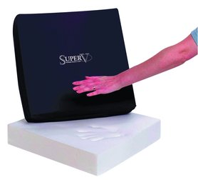 Designer Super V zitkussen - 46 x 40 x 8 cm