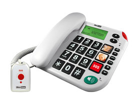 Maxcom SOS huistelefoon wit