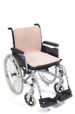 Mobility fleece zitting/rug