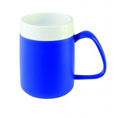 Conische warmhoudbeker - blauw