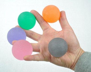 Handtherapie handtrainer gelballen