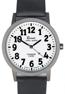 Garde Titan Horloge met lederen band