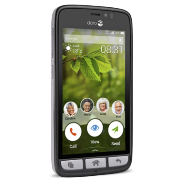 Doro 8031 smartphone zwart