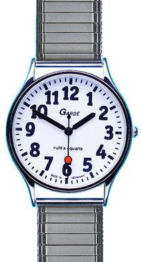 Garde witte wijzerplaat herenhorloge