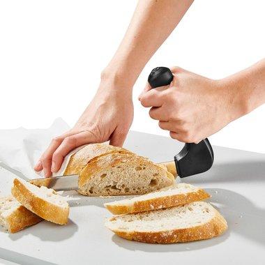Gehoekt keuken mes