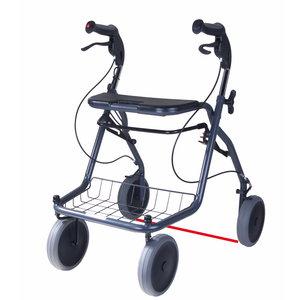 Parkinson rollator met laser