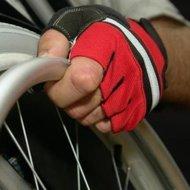 rolstoelhandschoen